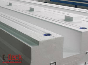 EPS-Deck Concrete Deck Forms - Integrated Mesh Support Rack - Ontario
