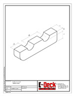 EPS-Deck EPS Concrete Deck Forms - Technical Drawings - Rebar Chair