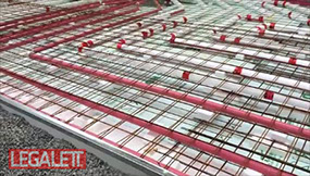Use Air Radiant Heated Floors and Frost Protected Shallow Foundations from Legalett Canada with EPS-Deck